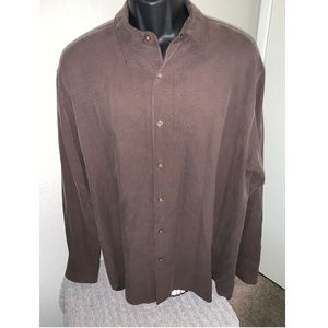 Tommy Bahama button front Long Sleeve Shirt XL
